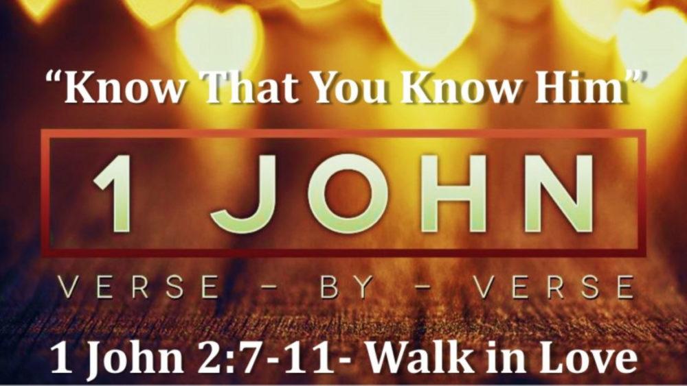 1 John 2 V7 11