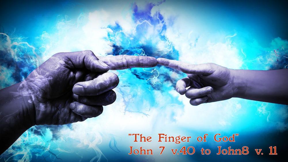 John 7 v40 to John 8 v11