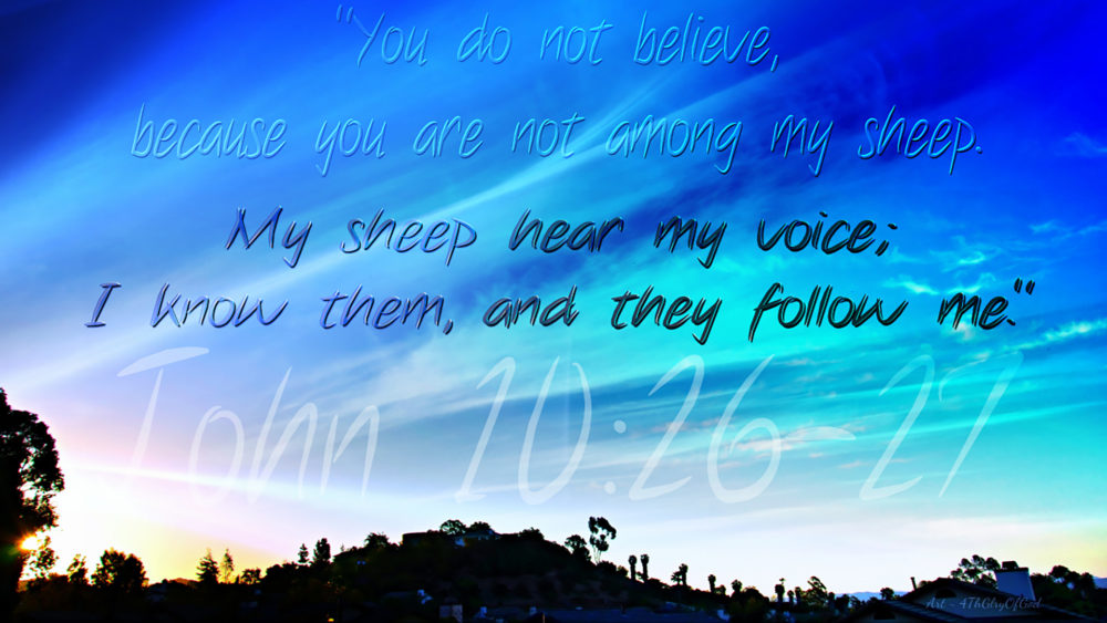 John Ch10 verses 22 to 42